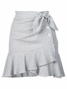 Veronica Beard knotted skirt - Grey