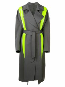 Maison Margiela fluorescent panels trench coat - Grey