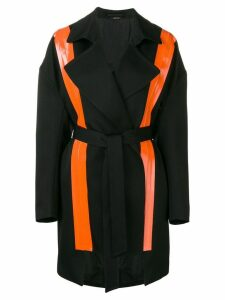 Maison Margiela fluorescent panels trench coat - Black