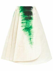 Prada tie-dye skirt - White