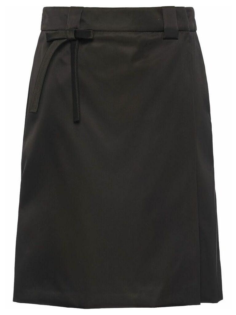 Prada wrap skirt - Black