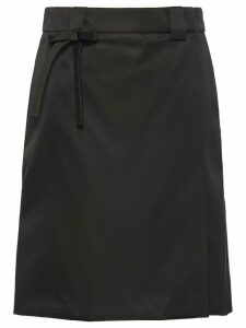 Prada wrap skirt - Black