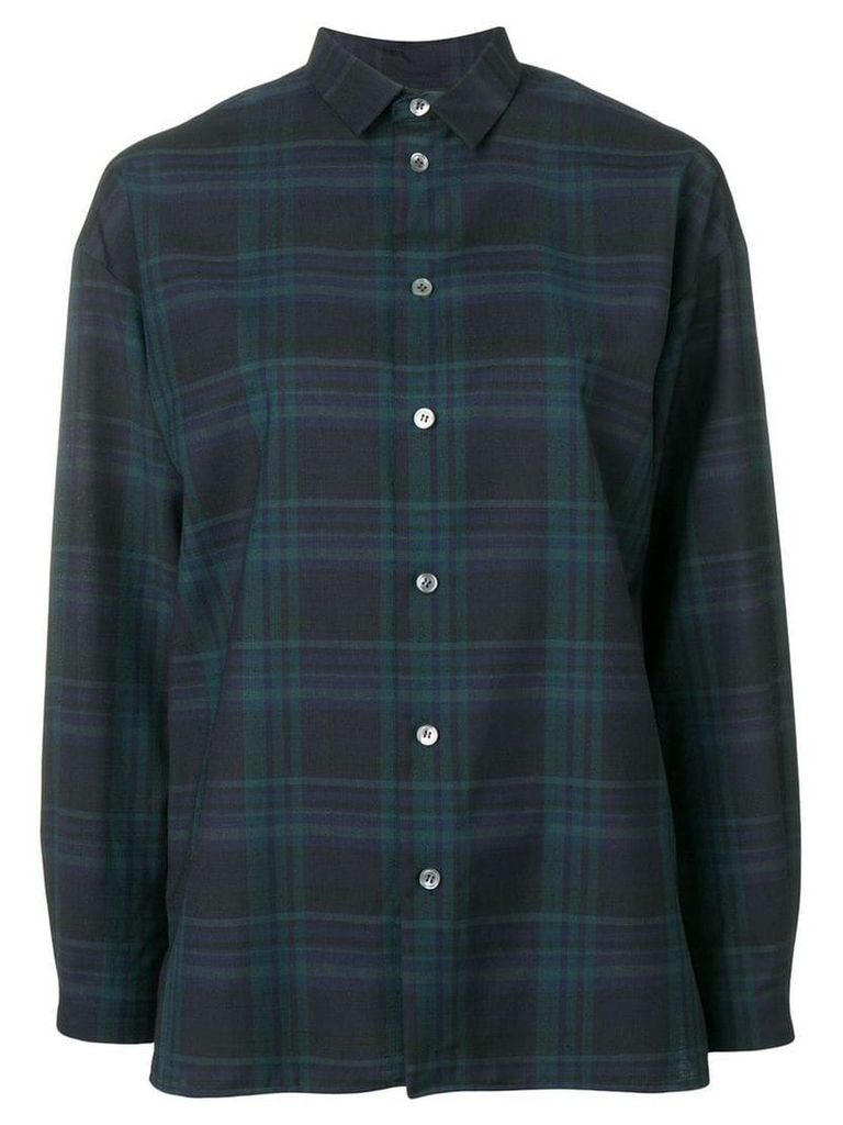 Stephan Schneider sunlight checked shirt - Blue