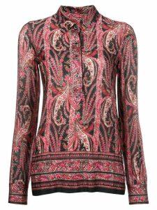 Isabel Marant paisley blouse - Black