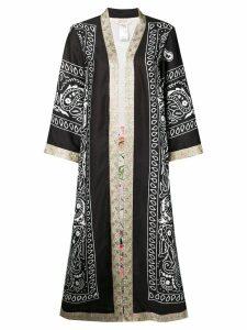 Black Coral casual kimono