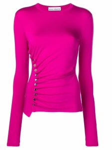 Paco Rabanne side buttons blouse - Pink