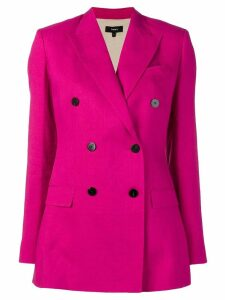 Theory double-breasted blazer - Pink