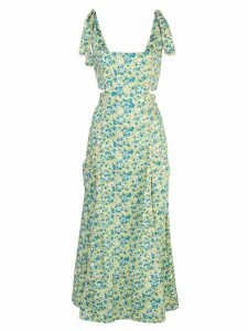 Cinq A Sept floral print Perla dress - Green