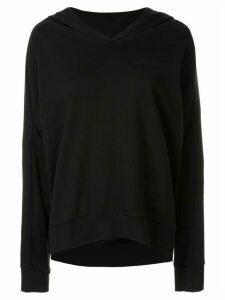 Zambesi peppercorn Hoodwink hoodie - Black