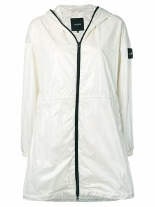 Duvetica Enya raincoat - White