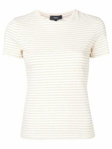 Theory Shima striped T-shirt - Neutrals