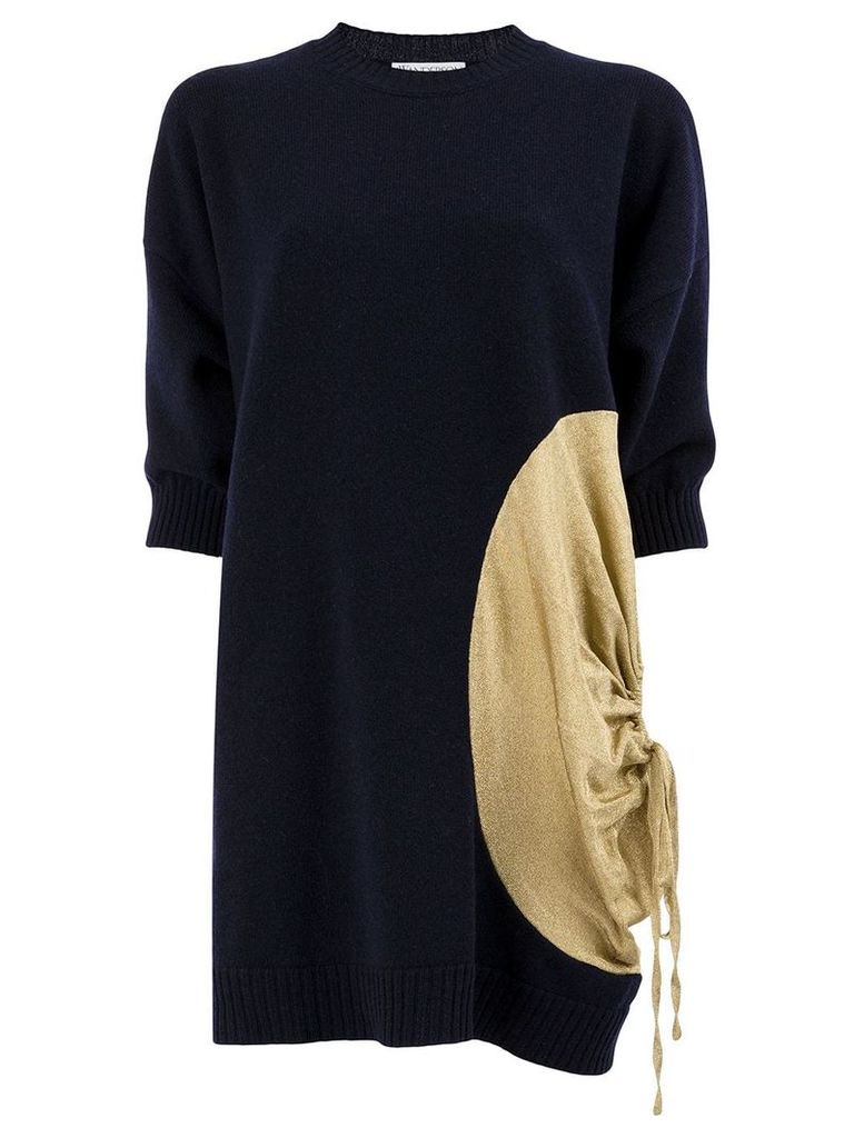 JW Anderson metallic detail sweater - Blue