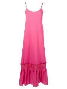 Gina gathered hem maxi dress - Pink