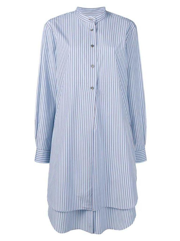 Odeeh striped shirt dress - Blue