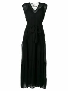 8pm belted maxi dress - Black