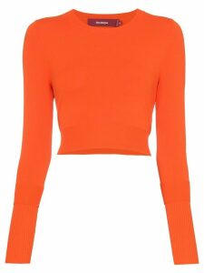 Sies Marjan knitted crop top - Orange