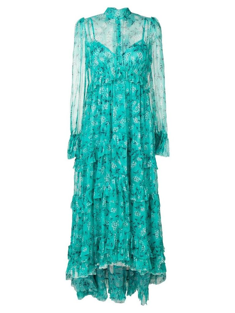 Zimmermann floral prairie dress - Green