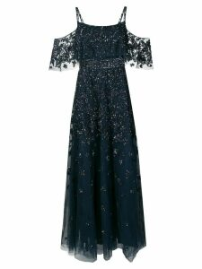Zuhair Murad sequin embellished gown - Blue