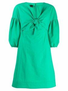 Pinko knot detail flared dress - Green