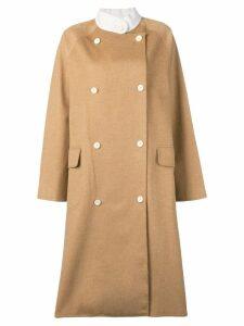 Dusan long trench coat - Brown