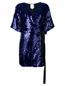 In The Mood For Love Jacqueline dress - Blue
