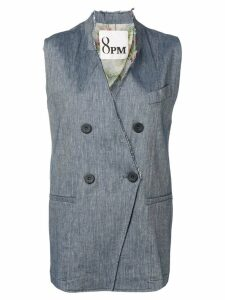 8pm Avio sleeveless blazer - Blue