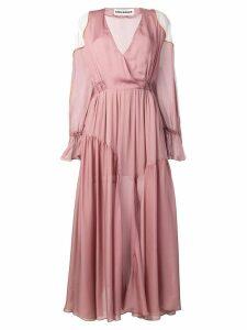 Each X Other romantic colour block dress - Pink