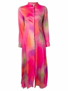 Each X Other tie dye shirt dress - Pink