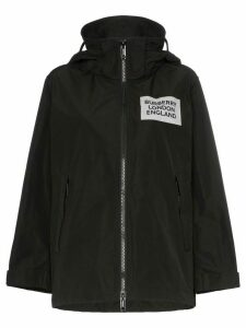 Burberry Millport hooded raincoat - Black