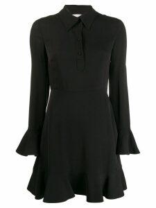 Valentino pointed collar shirt dress - Black