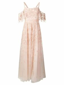 Zuhair Murad sequin embellished gown - Pink