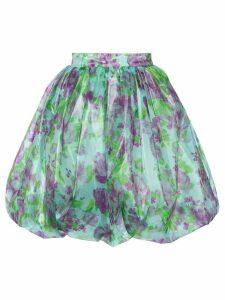 Vivetta floral skirt - Blue