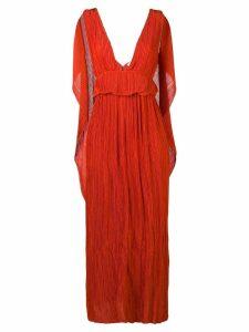 Chloé Grecian evening dress - Orange