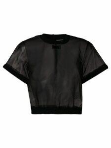 Off-White transparent top - Black
