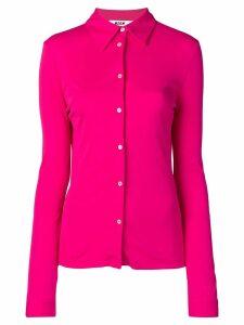 MSGM slim fit tailored shirt - Pink