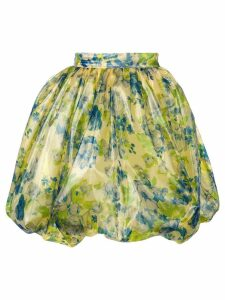 Vivetta floral print flared skirt - Green