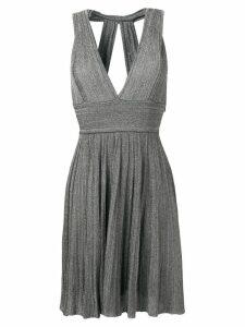 Antonino Valenti Petronia short lurex dress - Grey