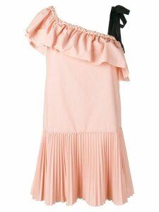 Red Valentino braided edge mini dress - Pink
