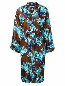 P.A.R.O.S.H. Sindy kimono - Brown