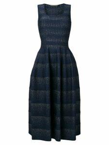 Antonino Valenti Lidania knit midi dress - Blue