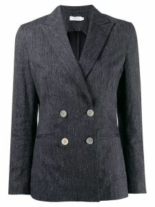 Barba double breasted blazer - Blue