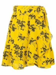 Michael Michael Kors floral-print skirt - Yellow