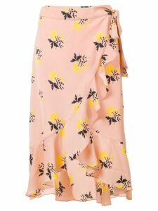 Essentiel Antwerp floral-print skirt - Pink