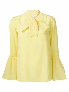 Michael Michael Kors chiffon blouse - Yellow