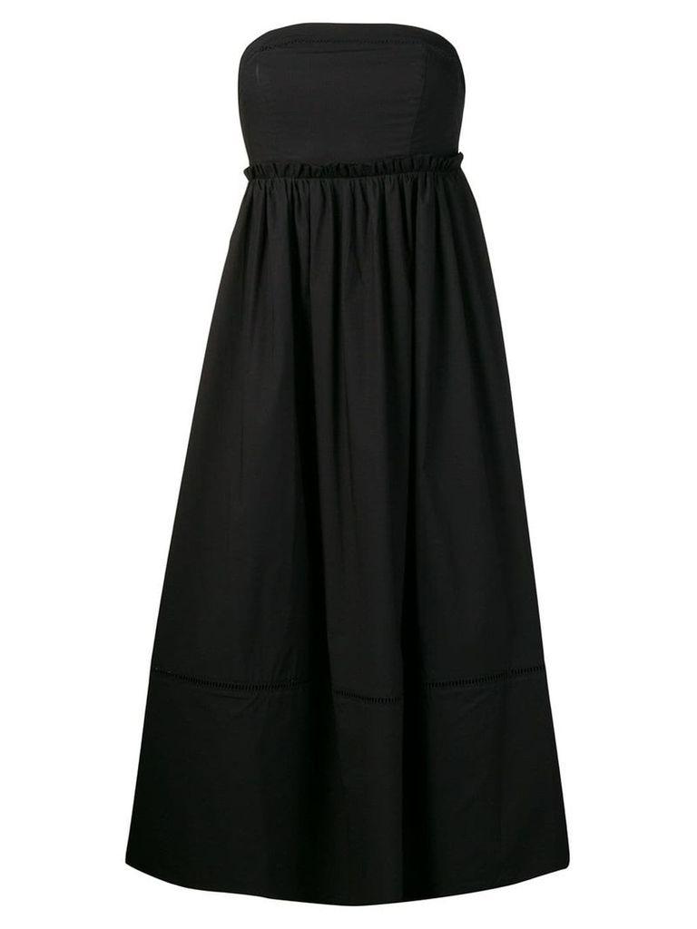 Twin-Set strapless dress - Black