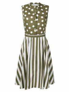 Peter Taylor Codiletta patterned shirt dress - Green
