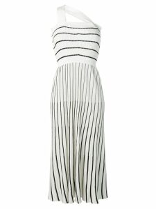 Sonia Rykiel ribbed knitted dress - White