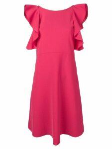 Antonelli ruffled shift dress - Pink