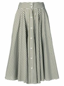Peter Taylor gingham skirt - Green