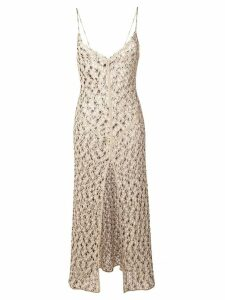 Missoni Mare patterned evening dress - Gold